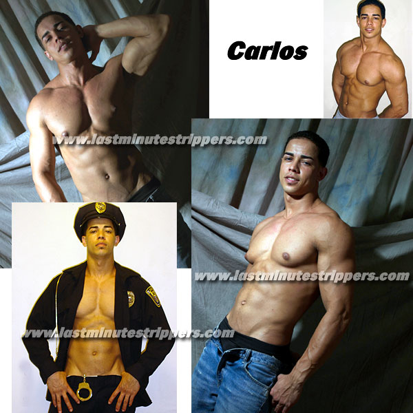 Carlos Male Stripper