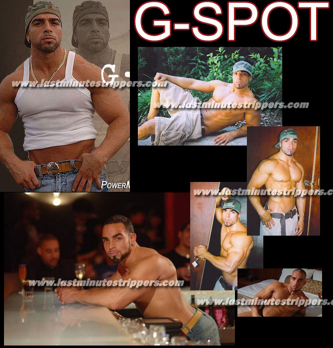G-Spot Male Stripper